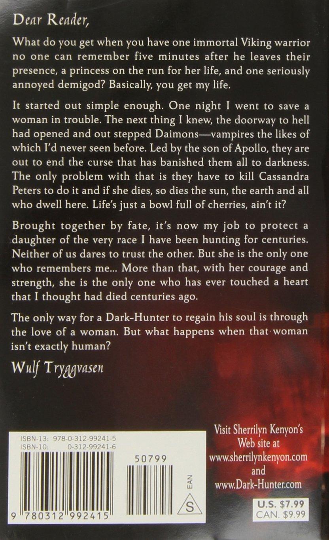 Kiss Of The Night (darkhunter, Book 5): Sherrilyn Kenyon: 9780312992415:  Amazon: Books