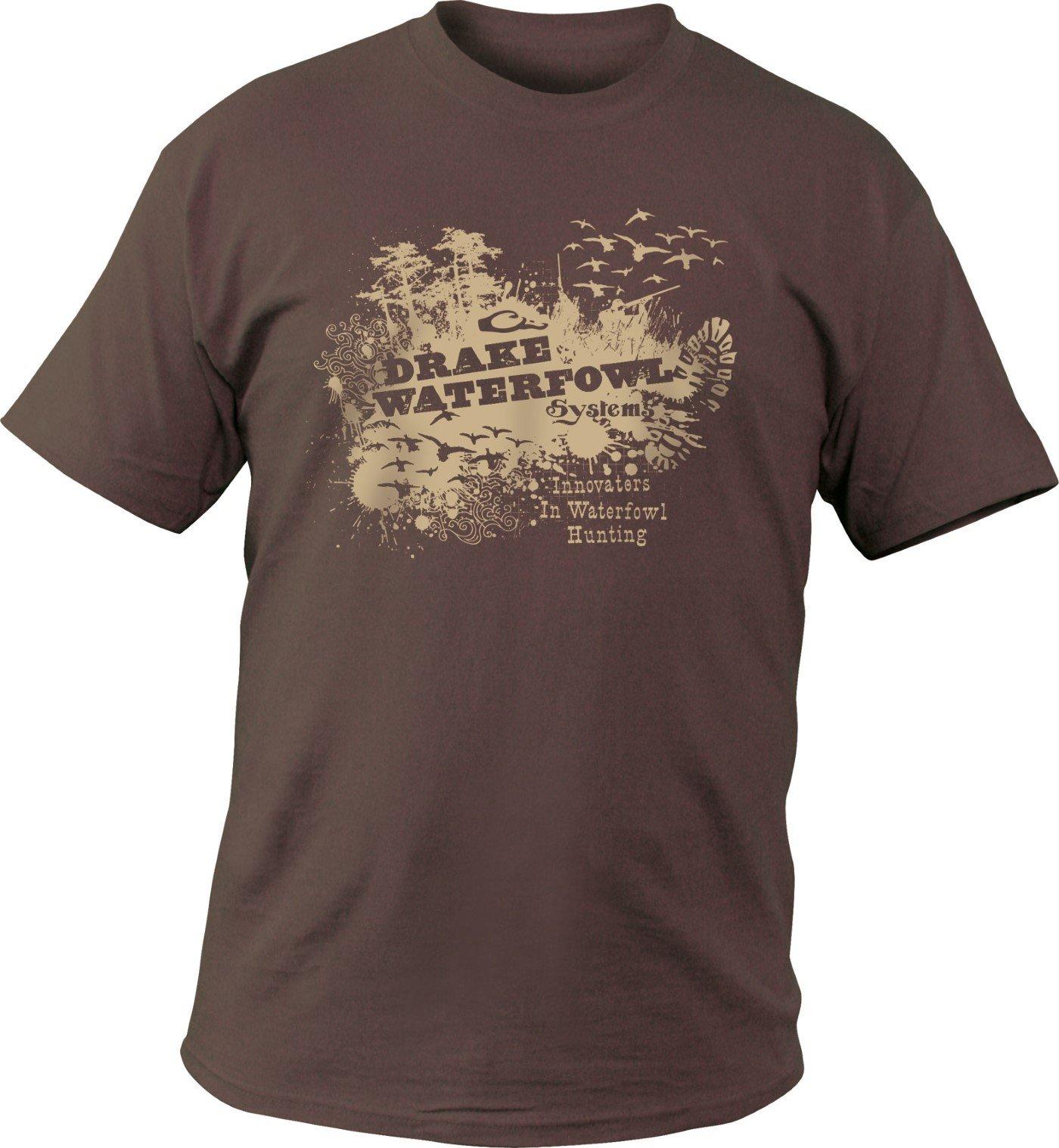 Drake S Honey Hole Short Sleeve Tshirt Brown