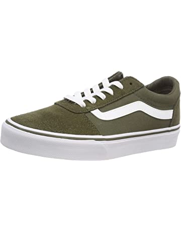 5e7e27c15cdb Vans Women s Ward Suede Canvas Low-Top Sneakers
