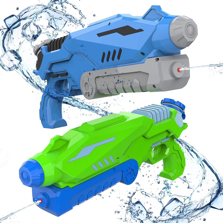 Water Gun Back Pack Blaster Tank Summer Play Set Air Pressure Toy Gift for Kids