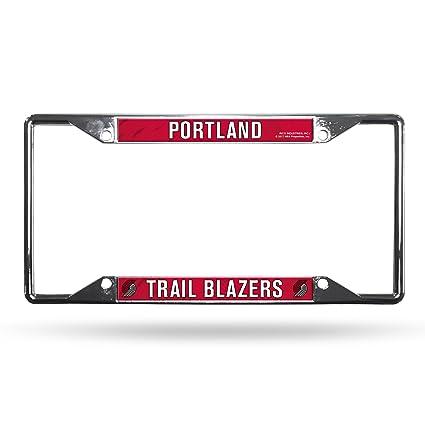 Amazon.com : Rico Portland Trail Blazers NBA Chrome EZ View License ...