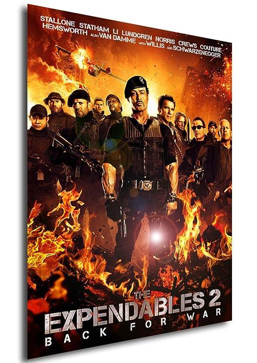 Instabuy Poster Cartel de pelicula - Los mercenarios 2 (A4 ...