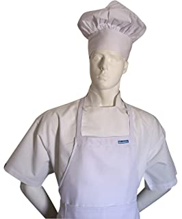 chefskin chef hat white velcro adjustable twill best gift comfortable men women - Best Gift For A Chef