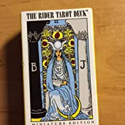 Miniature Rider Waite Tarot Deck by Arthur Edward Waite 1985 ...