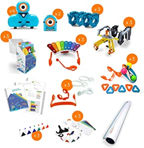 Wonder Workshop K-5 Classroom Pack – Coding Robot for Kids 6+ – Voice Activated – Navigates Objects – 5 Free Programming STEM Apps – Creating Confident Digital Citizens