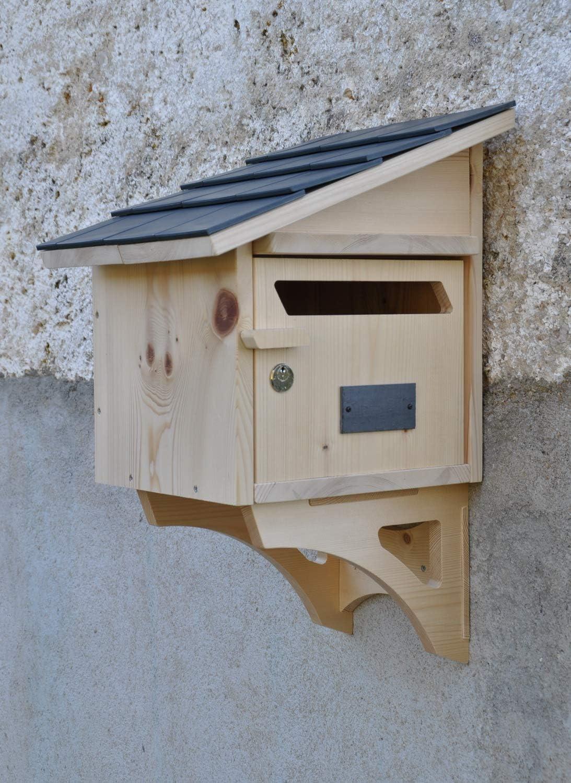 EQUERRES pour Boite AUX Lettres en Bois CREASTUCE
