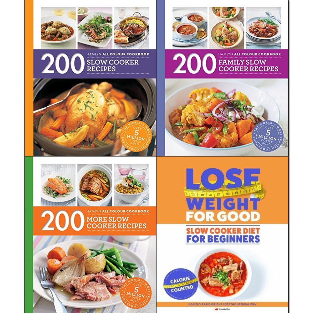 Read Online Slow Cooking Recipes 3 Books Collection Pack Set (The Classic 1000 Slow Cooker Recipes, Curries and Spicy Dishes , Hamlyn All Colour Cookbooks 200 Slow Cooker Recipes) ebook