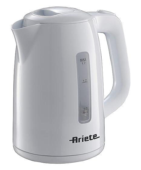 Ariete 2200 Hervidor, 1.7 litros, 2200 W, Blanco: Amazon.es ...