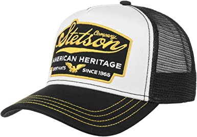 Stetson Gorra American Heritage Trucker Hombre - de Malla Beisbol ...