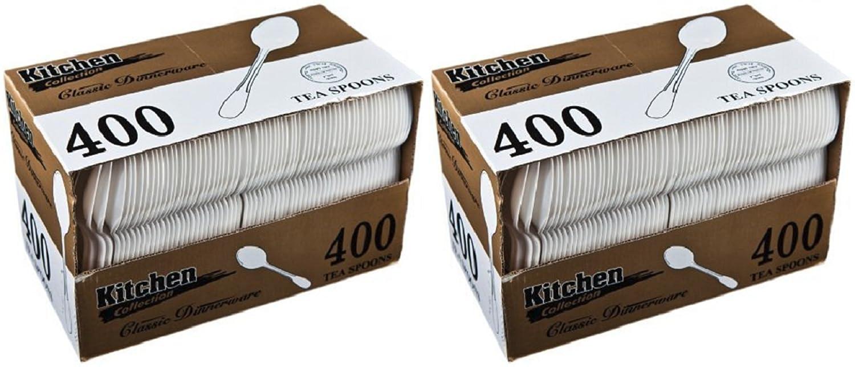 Blue Sky Medium Weight Plastic Fork White Case of 400
