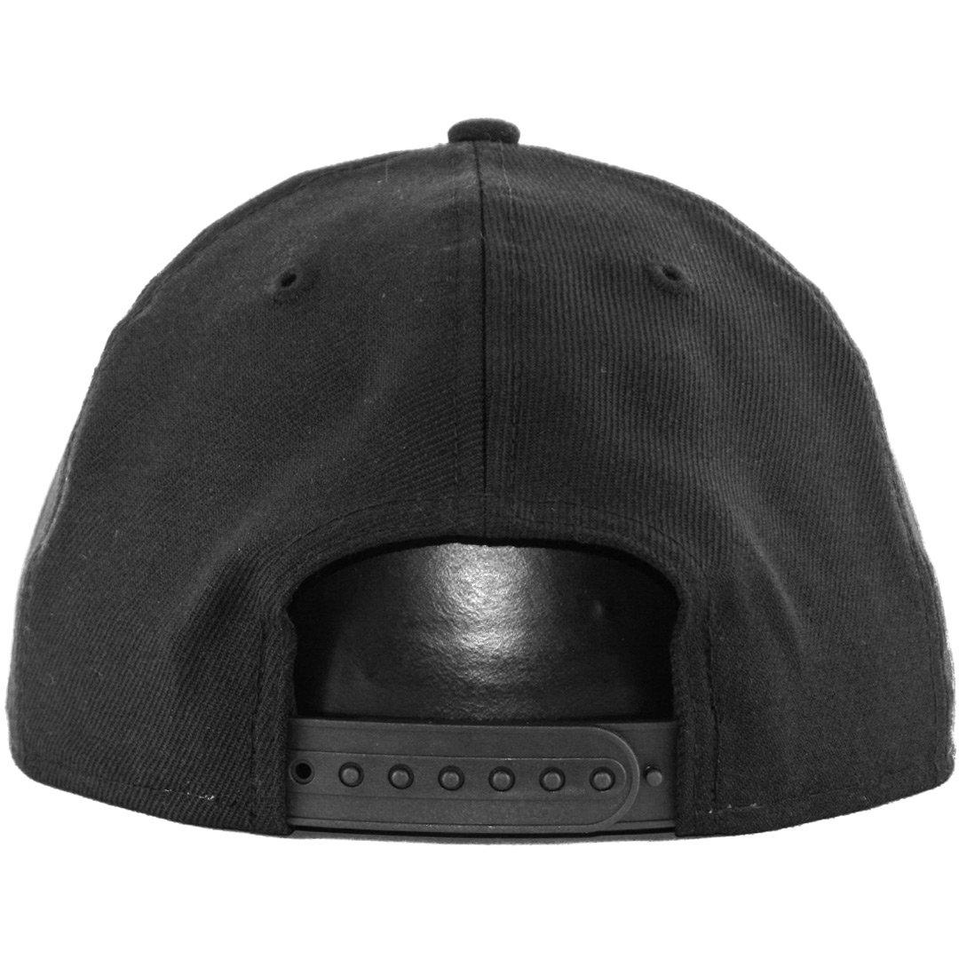 Amazon.com   New Era 9Fifty Plain Blank Snapback Hat Original Uniform Cap  Black Navy Red   Sports   Outdoors dda21899d6db