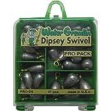 Water Gremlin Dipsey Swivel Pro Pack, 7ea/10, 6ea/9, 5ea/8, 5ea/7, 4ea/6