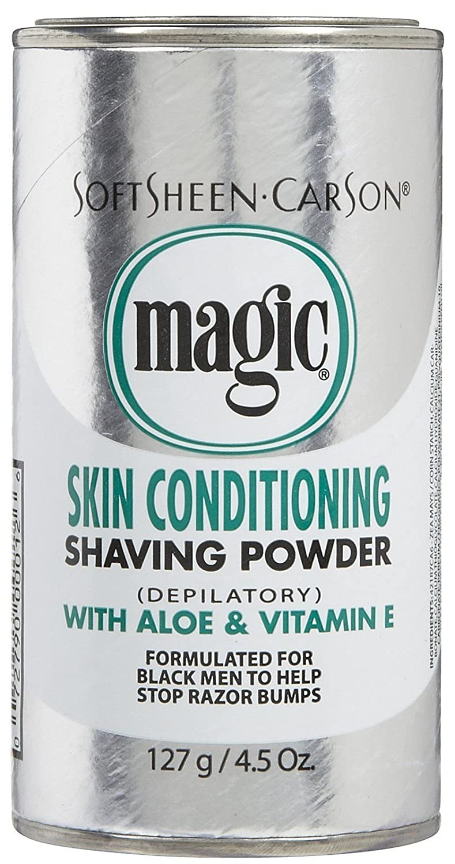 Softsheen Carson Magic Shaving Powder Platinum 142G 072790000126