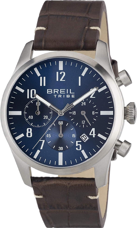 Reloj BREIL Reloj Analógico-Digital para Adultos Unisex de Cuarzo con Correa en Aleación 1