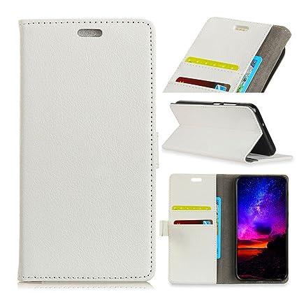 more photos dd65a cf0b3 Amazon.com: TOTOOSE OnePlus 6 Case, OnePlus 6 Shell Folio Flip Cover ...