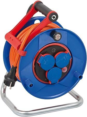 Stahlblech 25m Brennenstuhl Garant S IP44 Kabeltrommel Einsatz im und rund