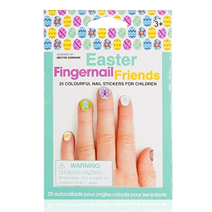 Amazon Wrapables Fingernail Friends Easter Nail Stickers Nail