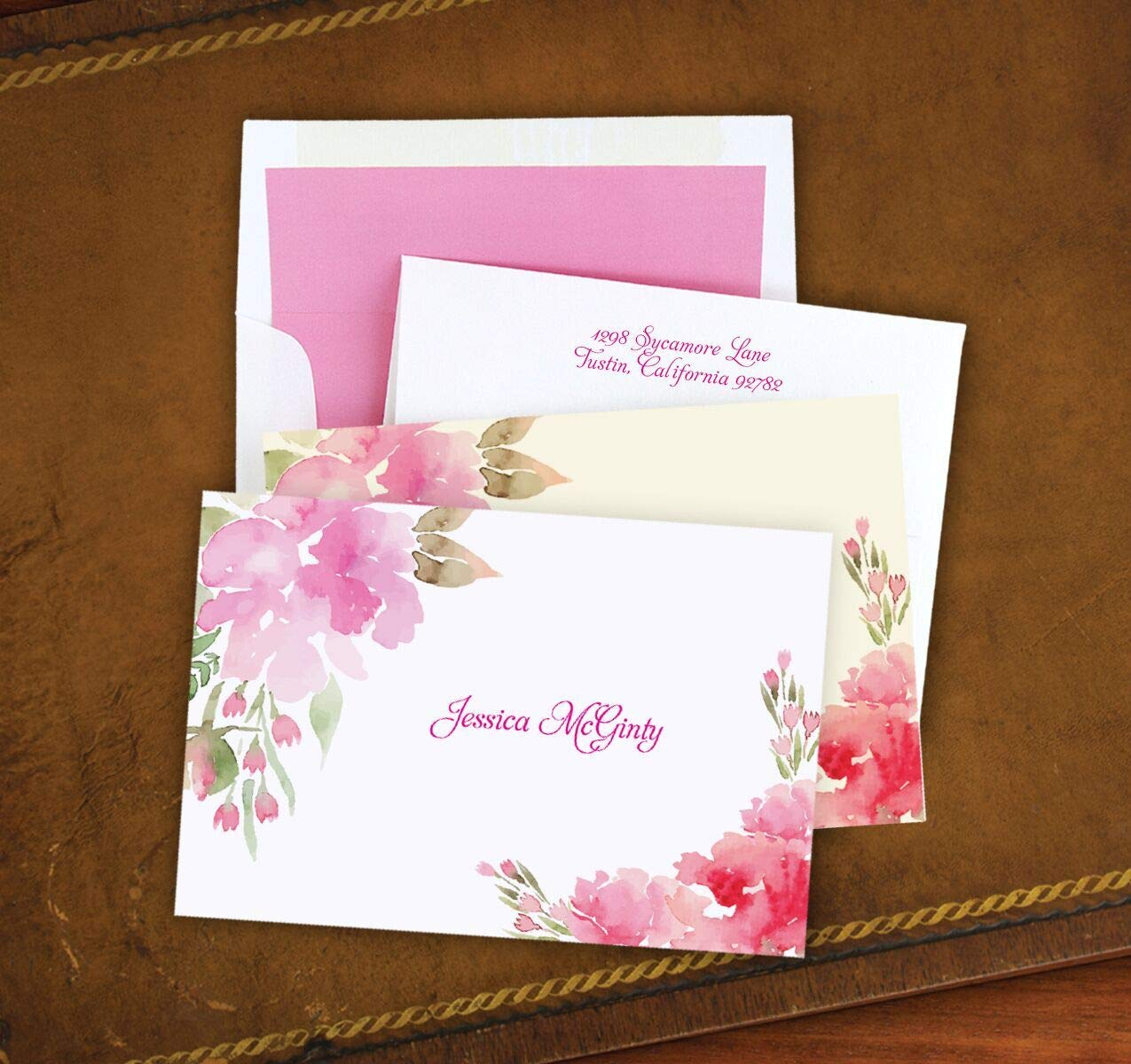 Pretty In Pink Note - Set of 25-3562