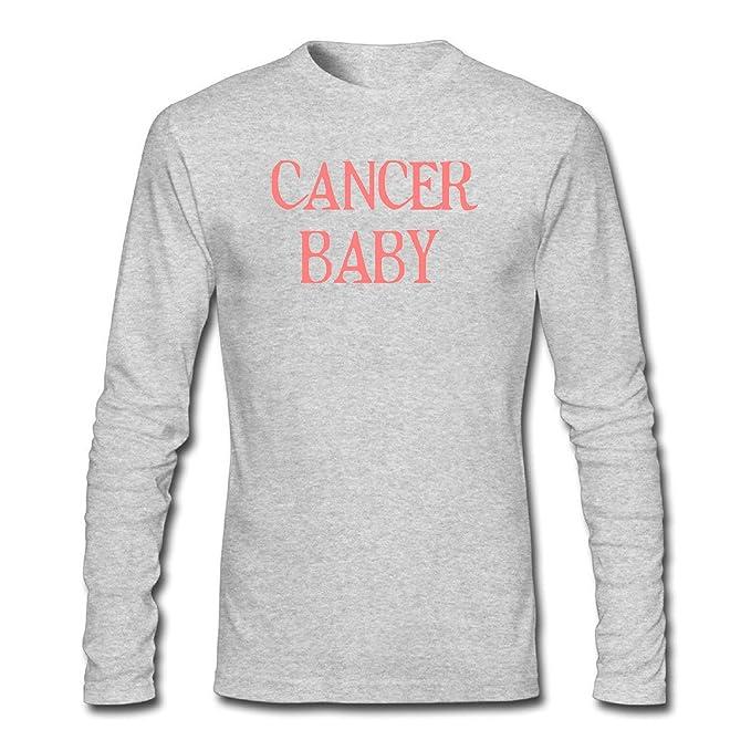 7845dedb4 WJINX Men's Cancer Baby Long Sleeve T-Shirt at Amazon Men's Clothing ...