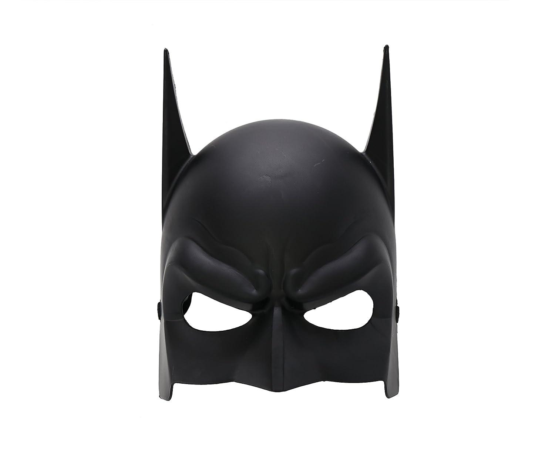 3 x Batman Dark Knight disfraz de adulto, color negro máscara de ...