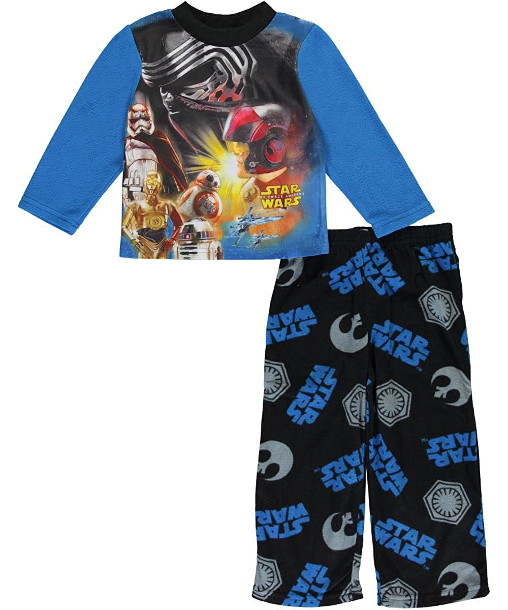 Star Wars Boys 4-10 2-Piece Star Wars Galaxy Pajama Set