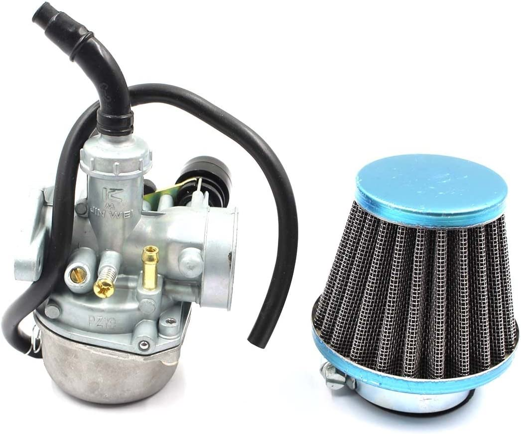 Carburetor And Air Filter 50CC 90CC 110CC ATV Go-Kart Carb Roketa SUNL Chinese