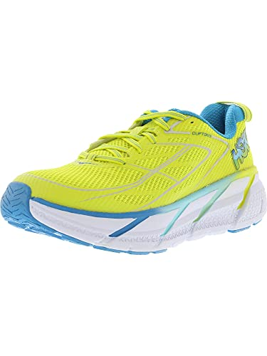 Hoka One One W Clifton 3 Blue Jewel Neon Coral: Hoka One One: Amazon.es: Zapatos y complementos
