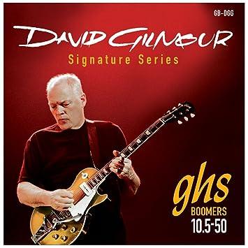 GHS: Dave Gilmour Signature Strings - Red Set (10.5-50s). para Guitarra Electrica: Amazon.es: Instrumentos musicales