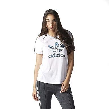 adidas Originals Trefoil Camiseta de Novio # ay6666, Blanco ...
