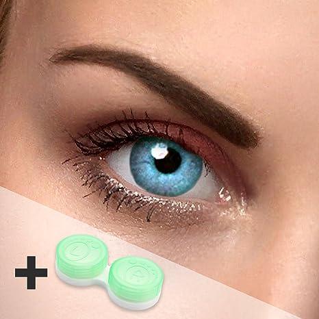 09cd3e3e17 Lentillas de colores azul - sin graduación - SKY blue - para ojos claros &  oscuros