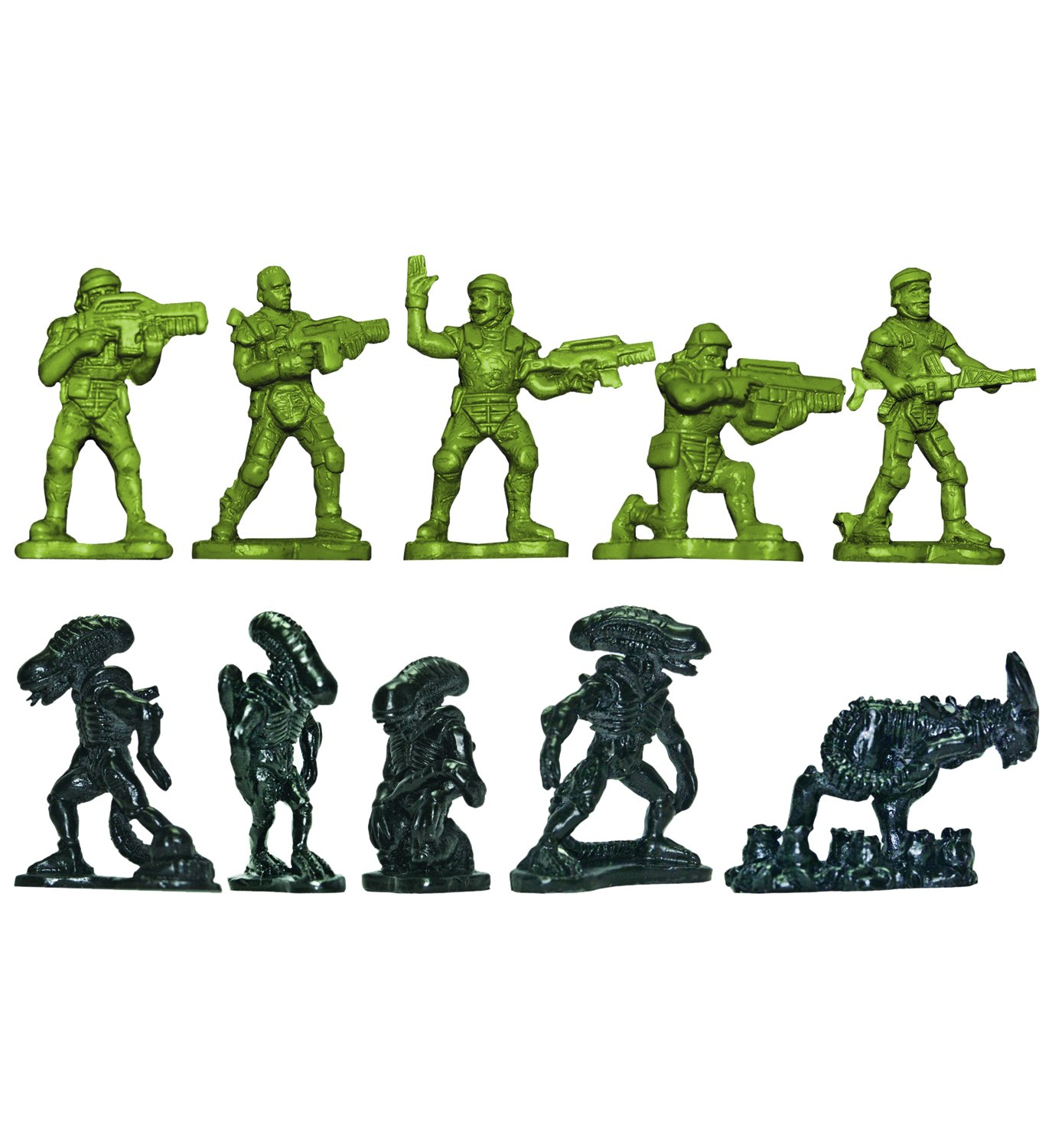 Aliens Vs. Colonial Marines Army Builder Plastic Soldiers 35 Pack 5 Cm Diamond Select