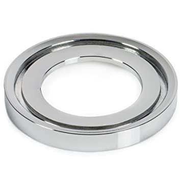 universal mounting ring for vessel sinks polished chrome