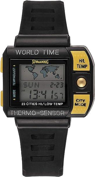 Spalding Reloj Hombre de Digital con Correa en Plástico SP00004