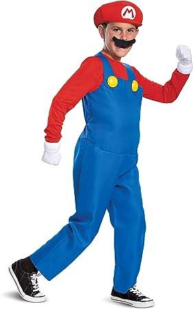 Nintendo Super Mario Bros- Deluxe Disfraz, Color Rosso, Small ...
