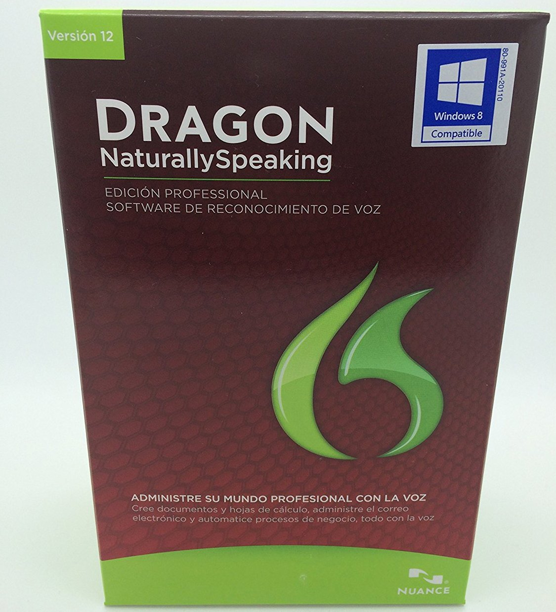 Dragon Naturally Speaking 12.0 Professional Spanish by Nuance