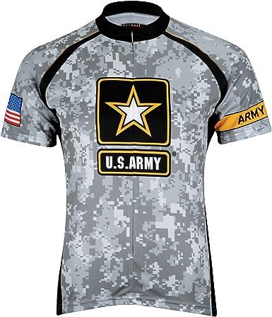 USA ARMY SHORT SLEEVE CYCLING JERSEY