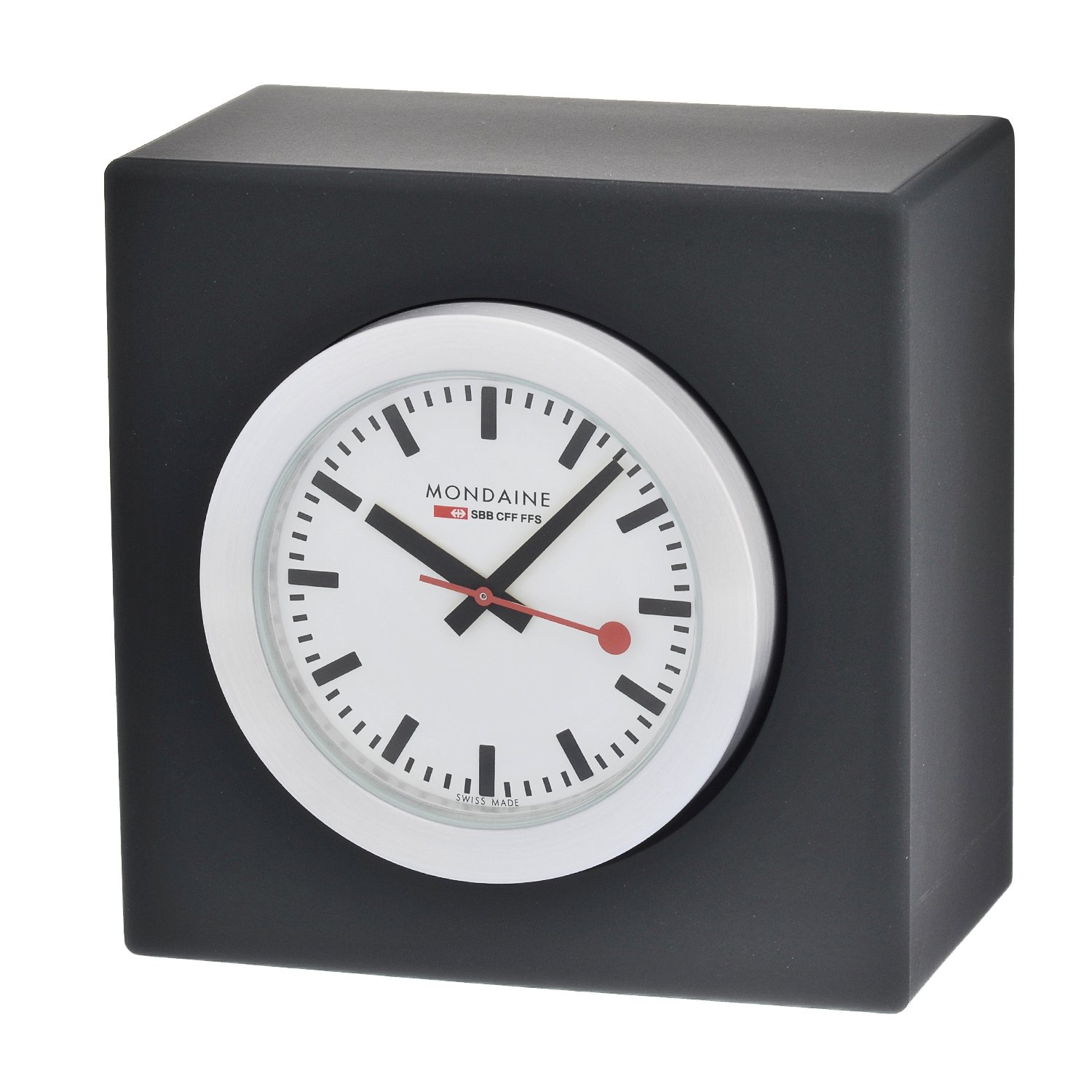 Mondaine swiss railway wall clock gallery home wall decoration ideas - Mondaine wall clocks ...