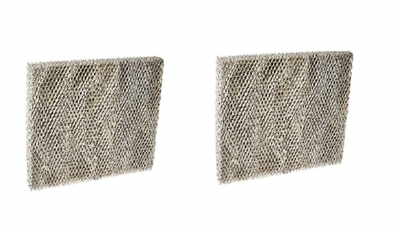 Air Filter Factory 2 Pack Compatible Humidifier Water Pad Filters For Honeywell HE200A, HE250A, HE260A, HE260B, HE265A, HE265B by Air Filter Factory