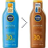 Protetor Solar Sun Protect & Bronze Fps30 125Ml, Nivea