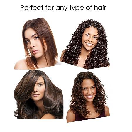 Amazon.com: Bellesentials herramienta de corte de pelo - cortatu propio cabello con tijeras diseñadas para el corte de pelo, herramienta de borde recto y ...