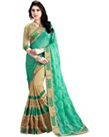 sarees (saree by Lajree Designer Women's Clothing Saree Collection in Multi-Coloured Georgette Material For Women Party Wear,Wedding,Casual sarees Offer Latest Design Wear Sarees With Blouse Piece)