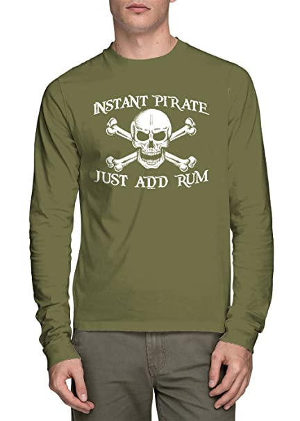 69256cdbb9 Image Unavailable. Image not available for. Color  HAASE UNLIMITED Long  Sleeve Men s Instant Pirate ...