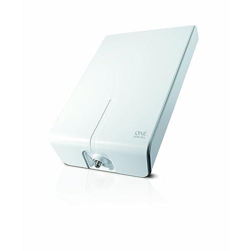 One For All SV9455, Antena de TV para Exterior, Recibe TDT en un rango