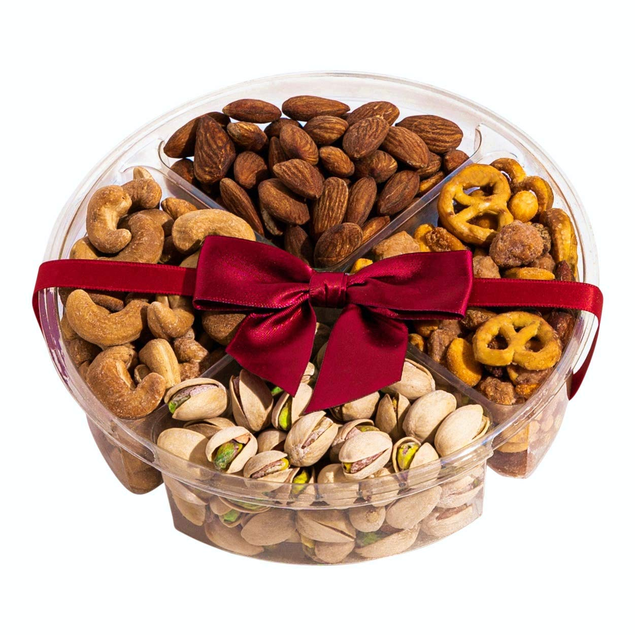 Simple Nuts Holiday Gift Baskets | Assorted Nuts Care Package, Ultra Fresh Nuts, Never Stale | Gourmet Food Snack Gift for Holidays, Christmas, Mother's Day, New Year's & More | Fast, Secure Shipping