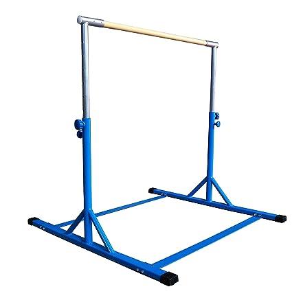Z Athletic Gymnastics Expandable Kip Bar Blue