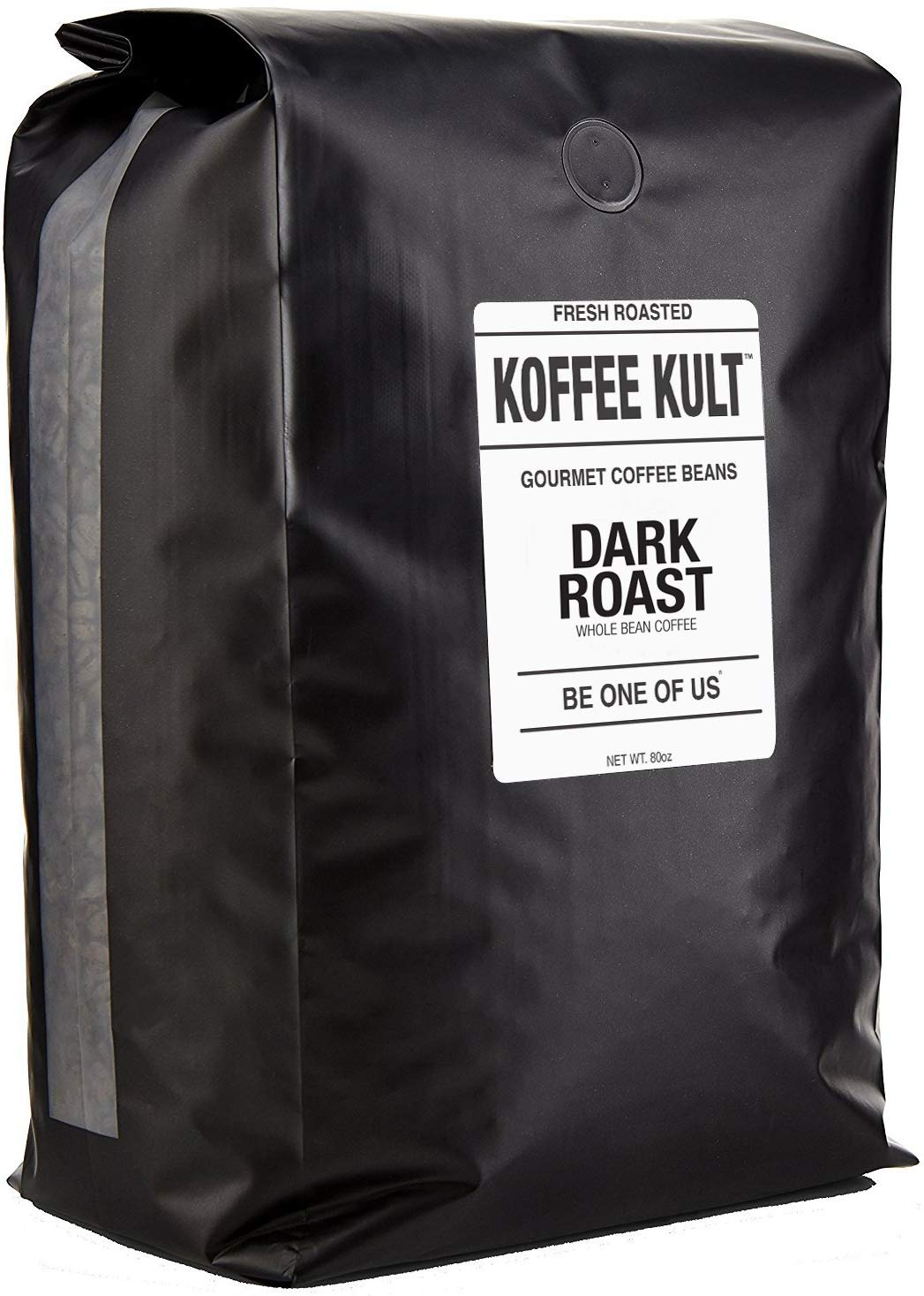 Koffee Kult DARK ROAST COFFEE BEANS (Whole Bean 5 Lbs) - Highest Quality Specialty Grade Whole Bean Coffee - Fresh Gourmet Aromatic Artisan Blend by Koffee Kult