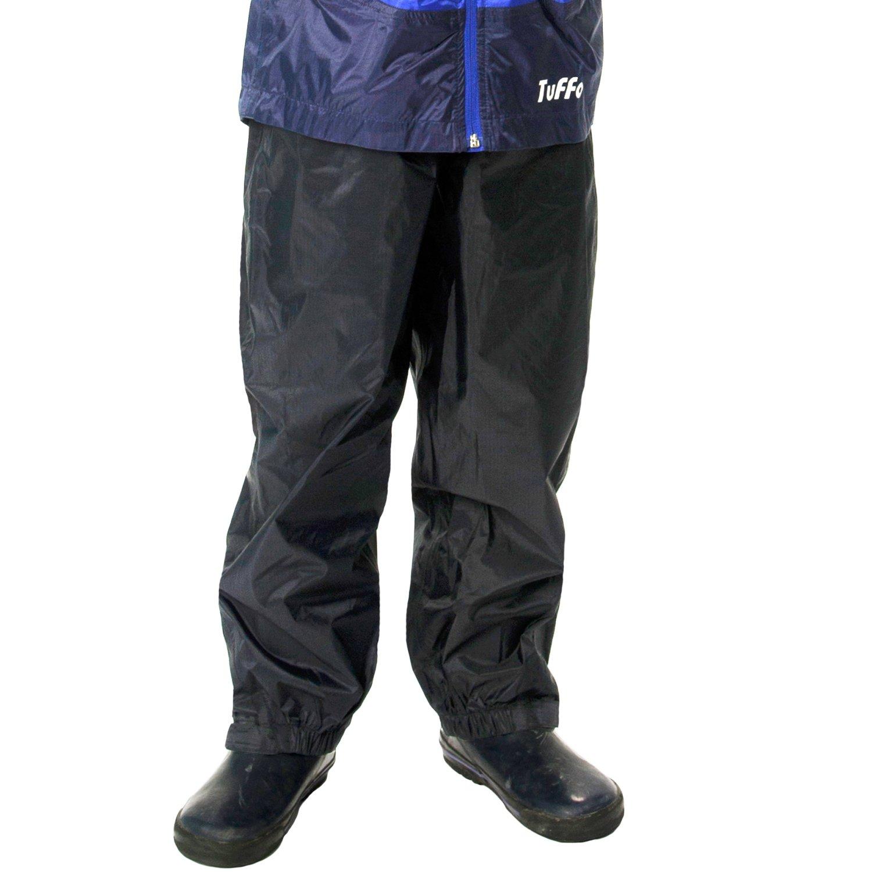 10-12 Blue TUFFO Big Boys Adventure Rain Jacket RJB003