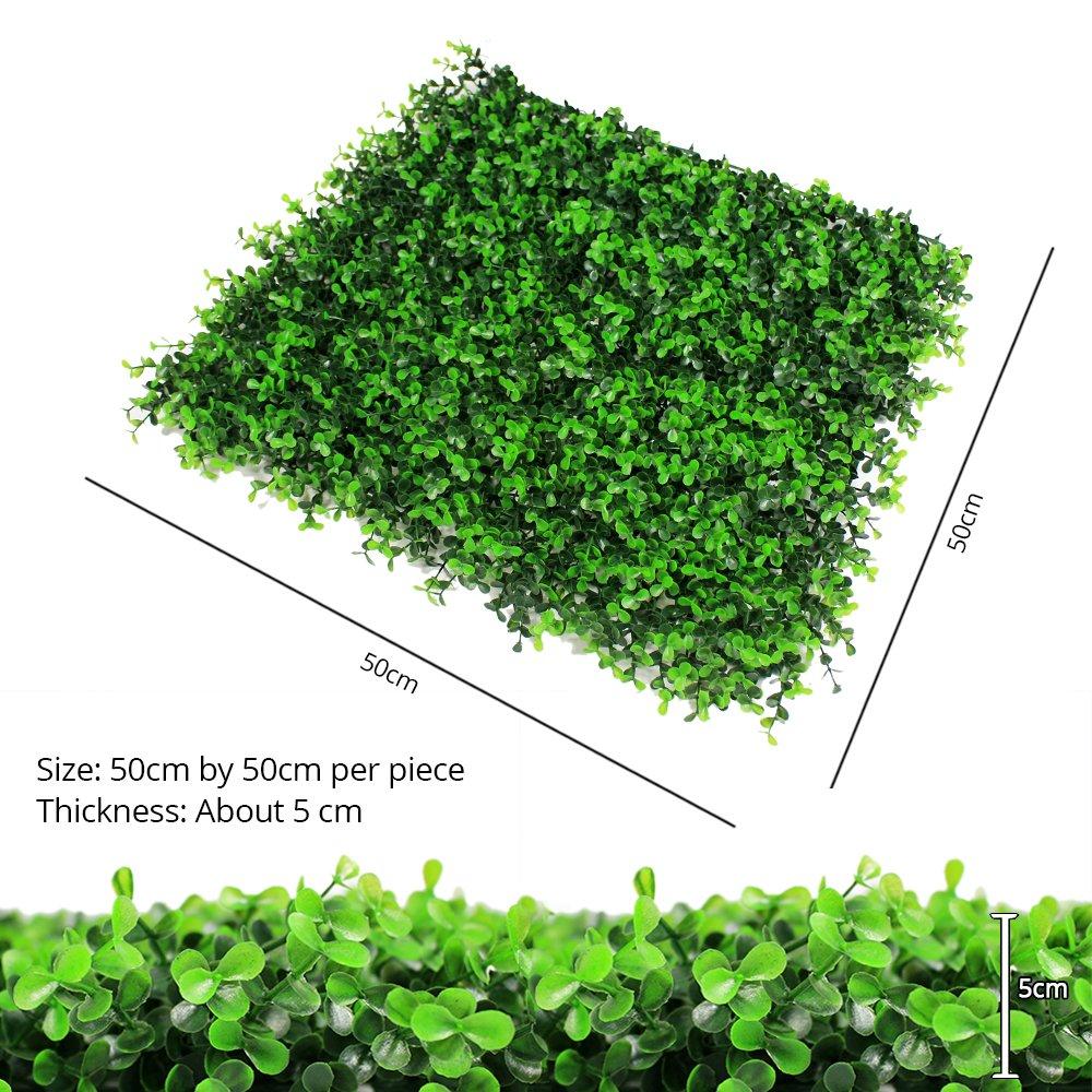 Amazon.com: Malla ULAND de vegetación artificial ...