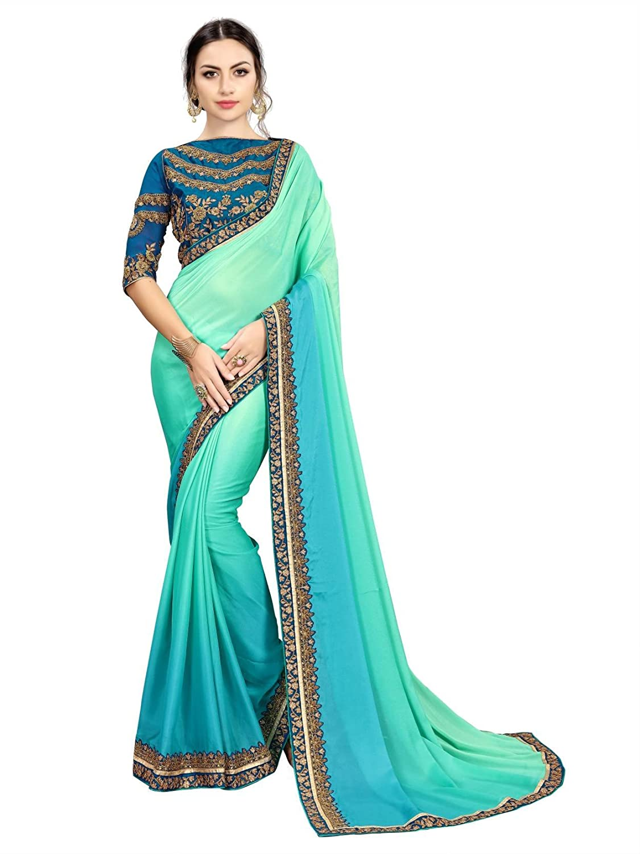 blue-saree