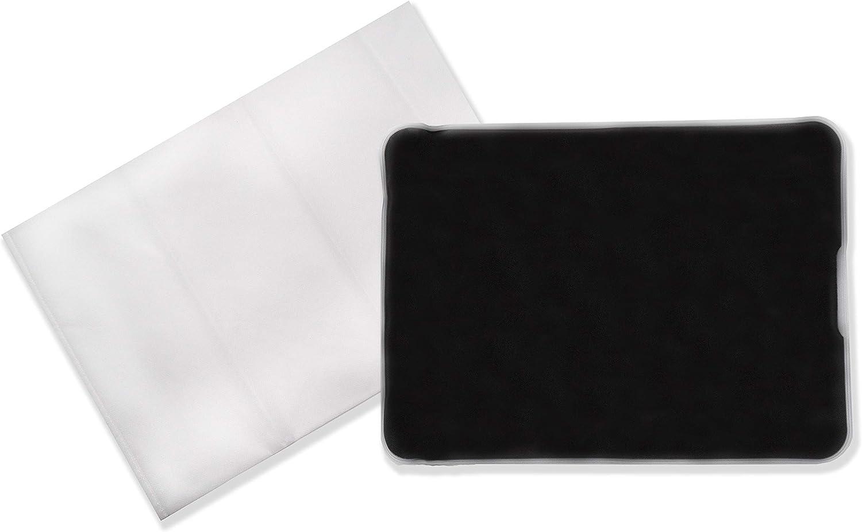Cojín térmico axion | de barro moor 28x38cm FRÍO/CALIENTE + funda de fieltro